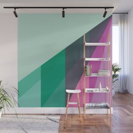 New Heights - Mint Wall Mural