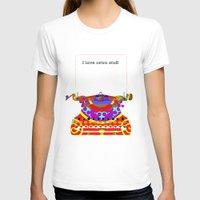 typewriter T-shirts featuring Typewriter by Design4u Studio