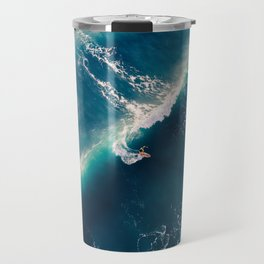 Surf from above Travel Mug