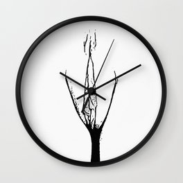 Vagina 4 Wall Clock