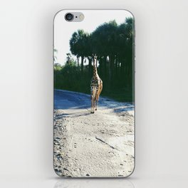 No Hurry In Africa iPhone Skin