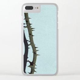 Greenbrier Vine Clear iPhone Case