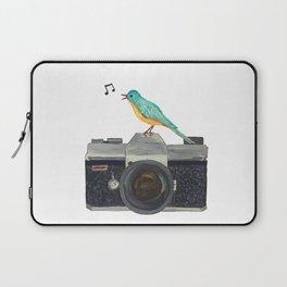 Watch the birdie Laptop Sleeve