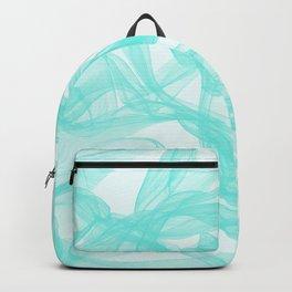 Turquoise Smoke Backpack