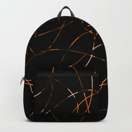 Abstract Threads Calico Dapple Backpack