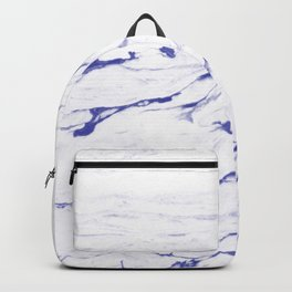 Light indigo marble Backpack