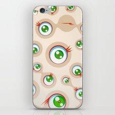 Takashi Murakami (né en 1962) jellyfish eyes cream iPhone Skin