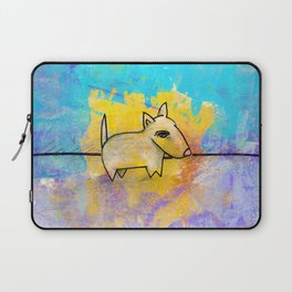 Dog No.1a by Kathy Morton Stanion Laptop Sleeve