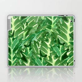 Holly Jolly Leaves (Large Pattern) Laptop & iPad Skin