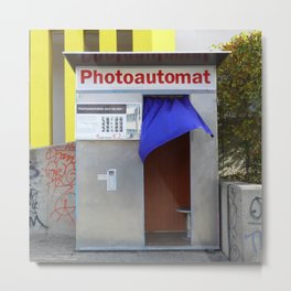 Berlin's old photo booths 03 Metal Print