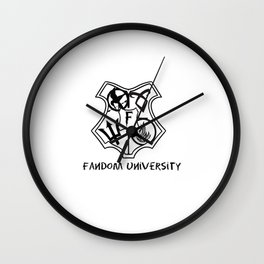 fandom university  Wall Clock