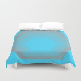 Homage to the Hexagon Duvet Cover