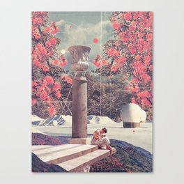 Waiting for my Loneliness to Forgive Me Canvas Print