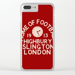 Highbury Football Ground Clear iPhone Case