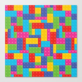 Building Blocks LG Canvas Print