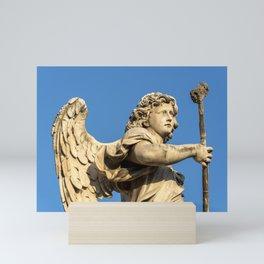 Angel, Ponte Sant'Angelo, Rome Mini Art Print