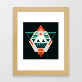 Sasquatch boss Framed Art Print