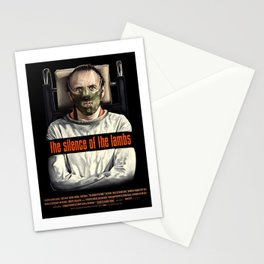 The Silence of The Lambs Stationery Cards
