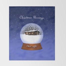 Christmas Blessings Throw Blanket