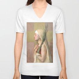 Saint Thecla Catholic Religious Art Unisex V-Neck