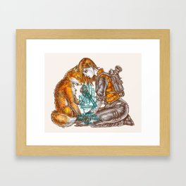 Honor Among Thieves Framed Art Print