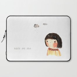 Rain on me Laptop Sleeve