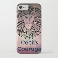 law iPhone & iPod Cases featuring Cecil's Law by MarjolynSpiritArt