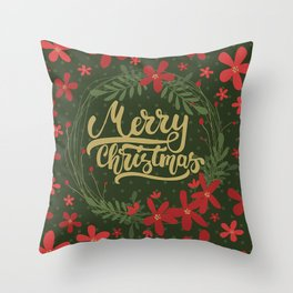 Christmas Greetings 7 Throw Pillow