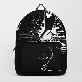I Love Orca Whales Ocean Gift Motif Backpack