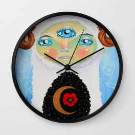 Dreamtime Yeti Wall Clock