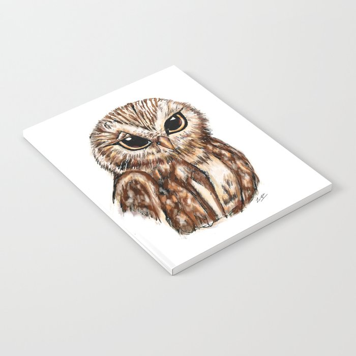 Wise 'Ole Owl Notebook