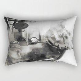 Steam power Rectangular Pillow