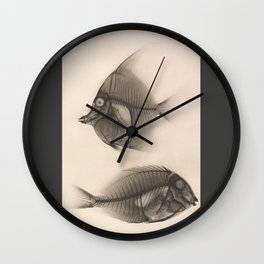 Fishes RTG Wall Clock