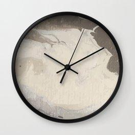 Marbled Hot Chocolate Wall Clock