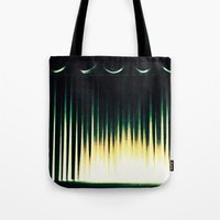 theater Tote Bags featuring Theater by Lipstick Vandalism