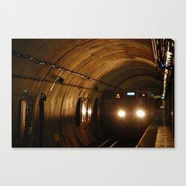 L-Train   Chicago Loop (color) Canvas Print