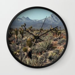 Cold Creek, Nevada Wall Clock