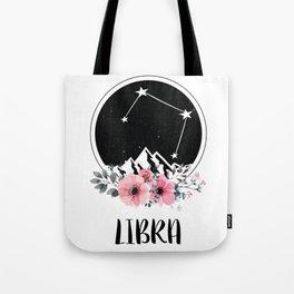 Libra Star Sign Tote Bag