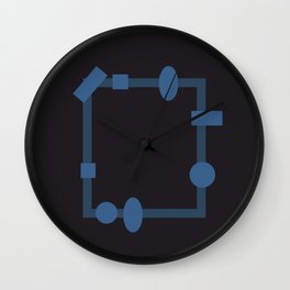 formes. Wall Clock