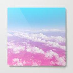 Pink Summer Flight Metal Print