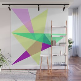 Triangles No19 Wall Mural