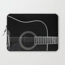Guitar BW Laptop Sleeve