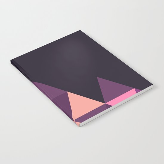 Geometric Pyramid Notebook