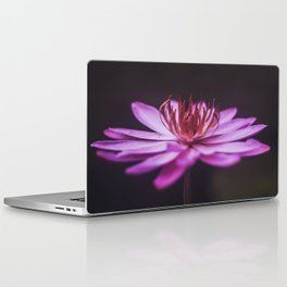 Purple Lotus Laptop & iPad Skin
