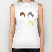 golden girls Biker Tanks featuring The Girls by Stevie NYC