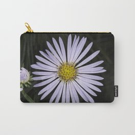 Tiny Blue Aster Carry-All Pouch