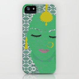 Portrait in Peace iPhone Case
