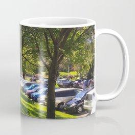 Carpark Trees Coffee Mug