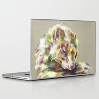 ferret Laptop & iPad Skins featuring Ferret IV by Anaïs Chesnoy