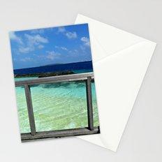 Maldivian balcony Stationery Cards